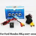 Para Ford Mondeo MK4 2007 ~ 2012/RCA AUX Com Fio Ou Sem Fio/CCD Night Vision/HD Ampla Ângulo Da Lente/Câmera de Visão Traseira Do Carro de Backup
