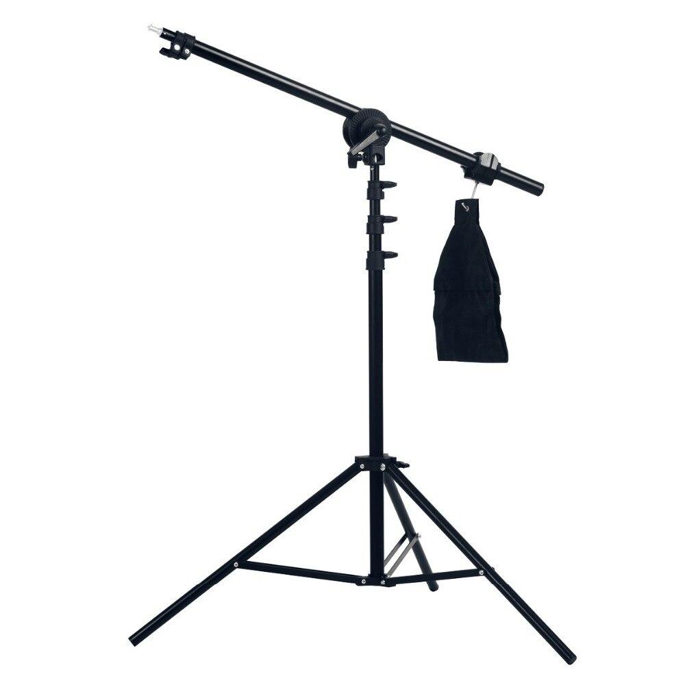 bilder für High Quality Photo Studio 75-135 cm Licht Boom Arm Mit Licht Stehen Heißer Verkauf