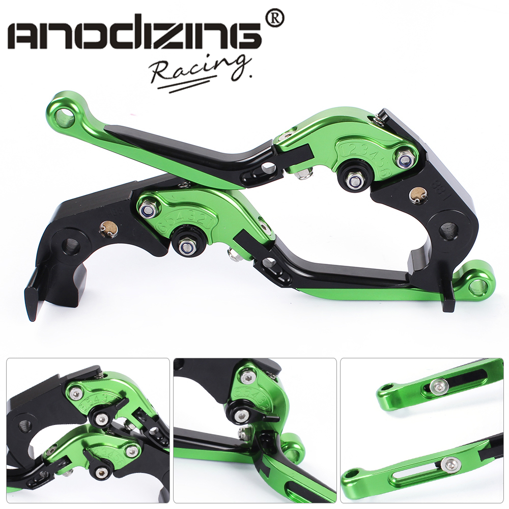 F-88/H-88 Adjustable CNC 3D Extendable Folding Brake Clutch Levers For KAWASAKI  ZX1400 / ZX14R / ZZR1400  06-17  GTR1400 07-17 billet alu folding adjustable brake clutch levers for motoguzzi griso 850 breva 1100 norge 1200 06 2013 07 08 1200 sport stelvio