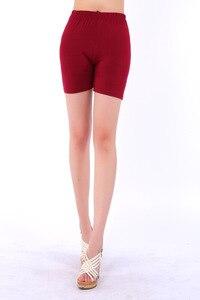 Image 5 - 2020 חדש הגעה סוכריות צבעים מודאלי מכנסיים קצרים נשים קיץ סגנון בתוספת גודל 5XL נשים של קצר
