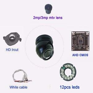 Image 5 - AHD Mini caméra dôme extérieur en métal 2MP 1080P 720P, étanche IP66, filtre coupe IR Vision nocturne pour vidéosurveillance, sécurité domestique