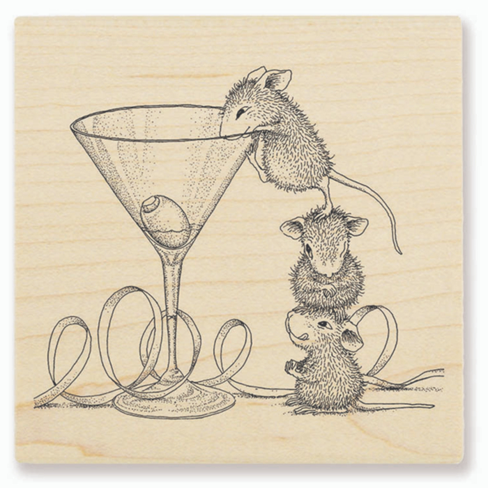 Cartoon Mouse Transparent Clear Silicone Stamp/Seal For DIY Scrapbooking/photo Album Decorative Clear Stamp 6613