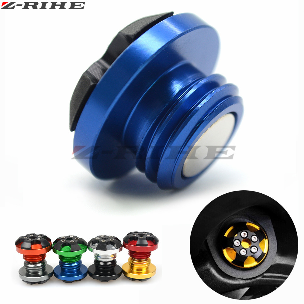 Motorcycle CNC magnetic engine oil filler cap Moto Bike Engine Oil Cap FOR YAMAHA T-MAX530 12-15 T-MAX500 08-11 MT-09 FZ09 13-15 cnc motorcycle swingarm spools slider stand screws black for yamaha mt 09 mt 07 mt 01 t max 500 t max500 tmax 530 tmax530