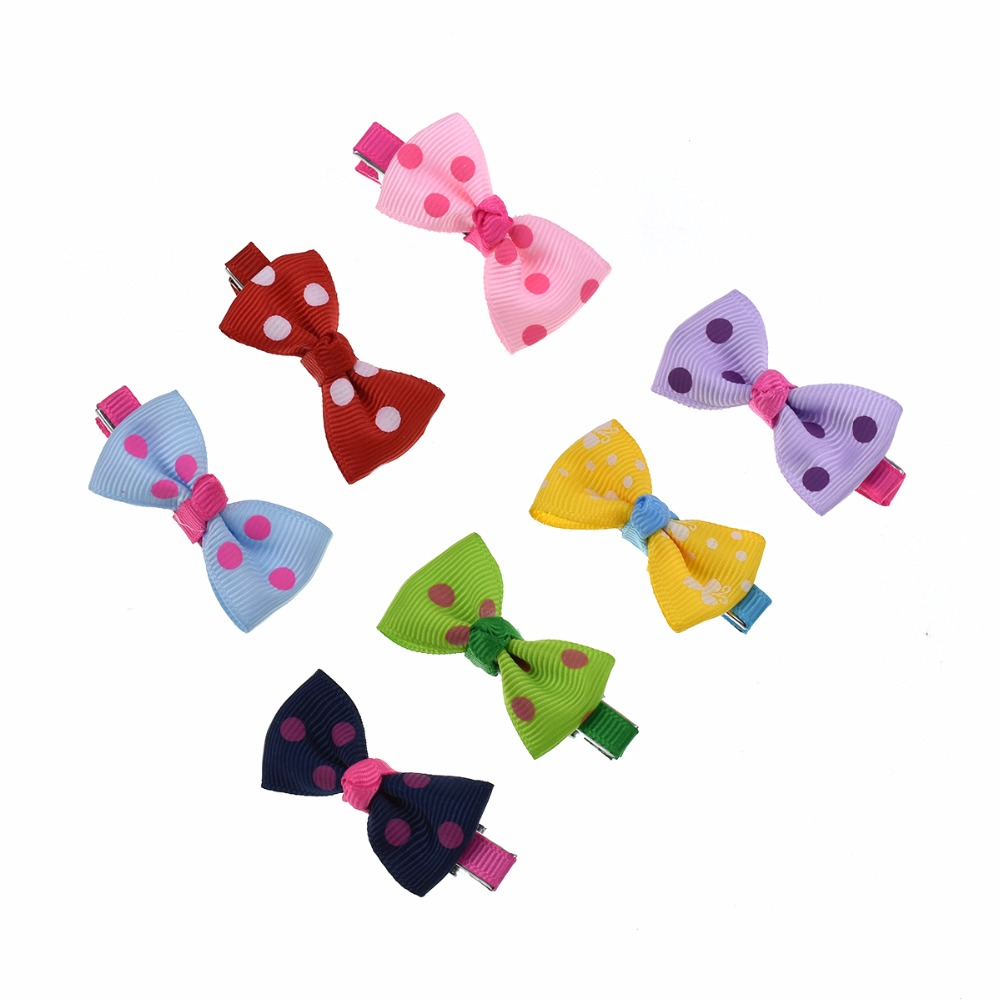 1 set 5 pcs Pet Puppy Dog Hairpin Grooming Accessories Sweet Hair For Small Dogs Supplies