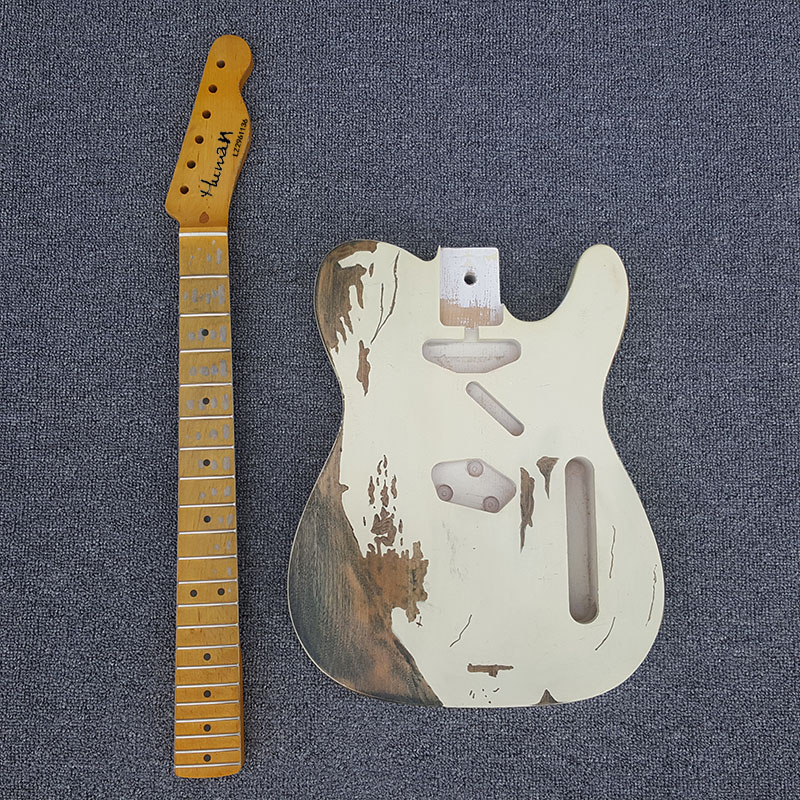 High quality,Handwork Heavy Relic, tl electric guitar, custom unfinished guitar,ash DIY guitar,Real photos,free shipping high quality tl guitar map panel transparent brown custom electric guitar 6 strings guitars real photos free shipping