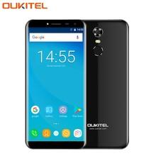 D'origine Oukitel C8 Téléphone portable 5.5 pouce Écran 2 GB RAM 16 GB ROM Quad Core MTK6580A Android 7.0 13.0 Caméra 3000 mAh SmartPhone