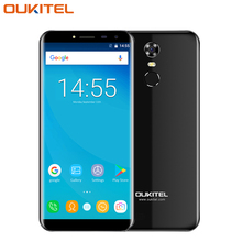 Original Oukitel C8 Cell Phone 5.5 inch Screen 2GB RAM 16GB ROM Quad Core MTK6580A Android 7.0 13.0 Camera 3000mAh SmartPhone