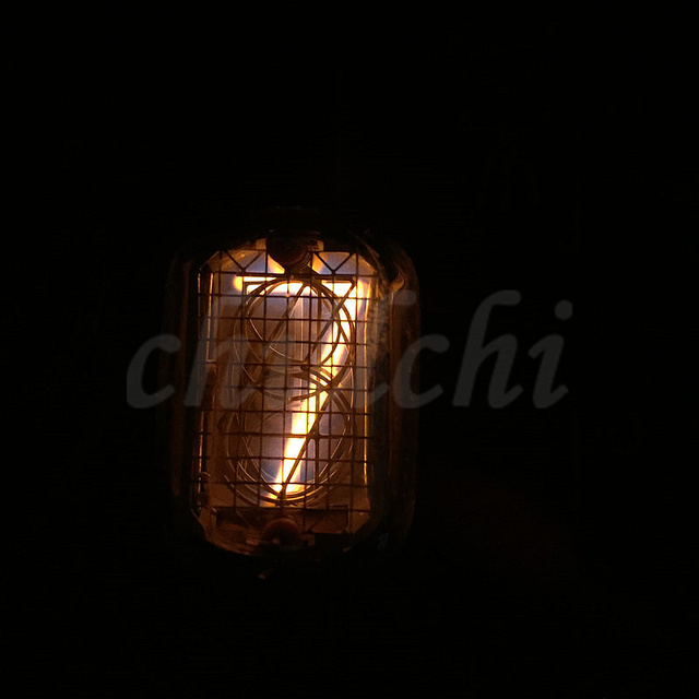 4pcs/lot special new IN 12 glow tube digital tube clock