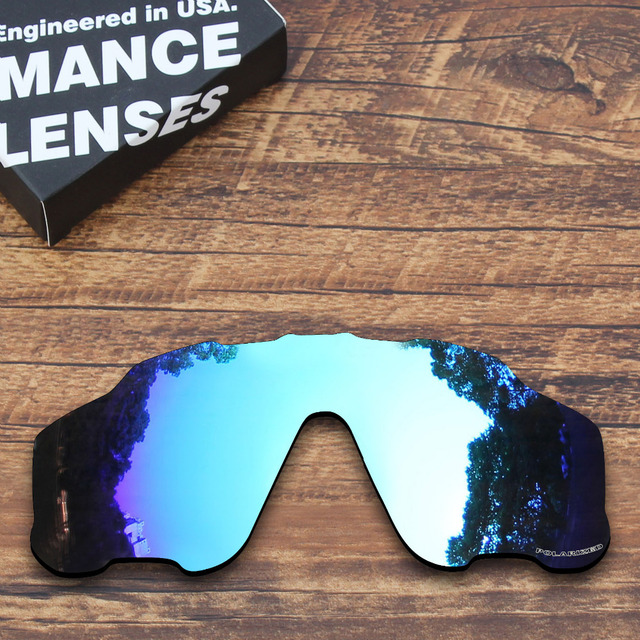 c1e6f4d799a ToughAsNails Resist Seawater Corrosion Polarized Replacement Lenses for  Oakley Jawbreaker Sunglasses Blue Mirrored (Lens Only