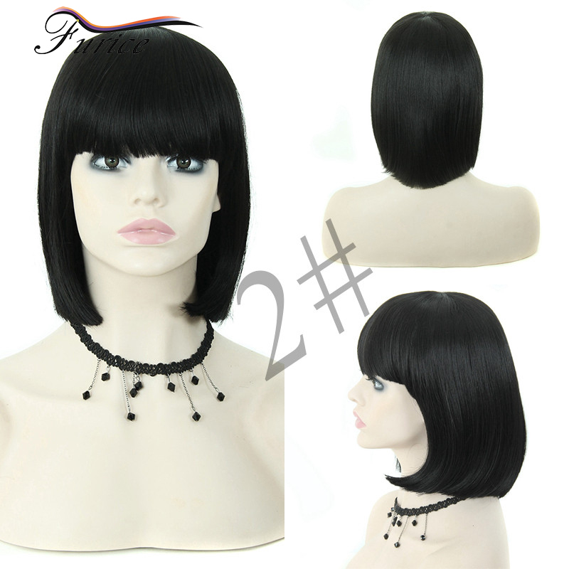 Very Short Wigs Hairpiece With Bangs For Black Women How To Make A Bob Wig  Cap Hair Black Bob Styles Long Blonde Costume Wig on Aliexpress.com  6d80559bc