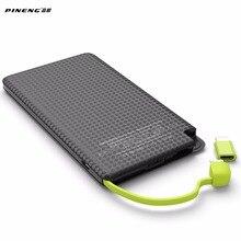 Banco do Poder Móvel de Carregamento Polímero para o para o Android 5000 MAH Pineng do Telefone Rápido Carregador de Bateria Externo Portátil Li-bateria Android para Iphone