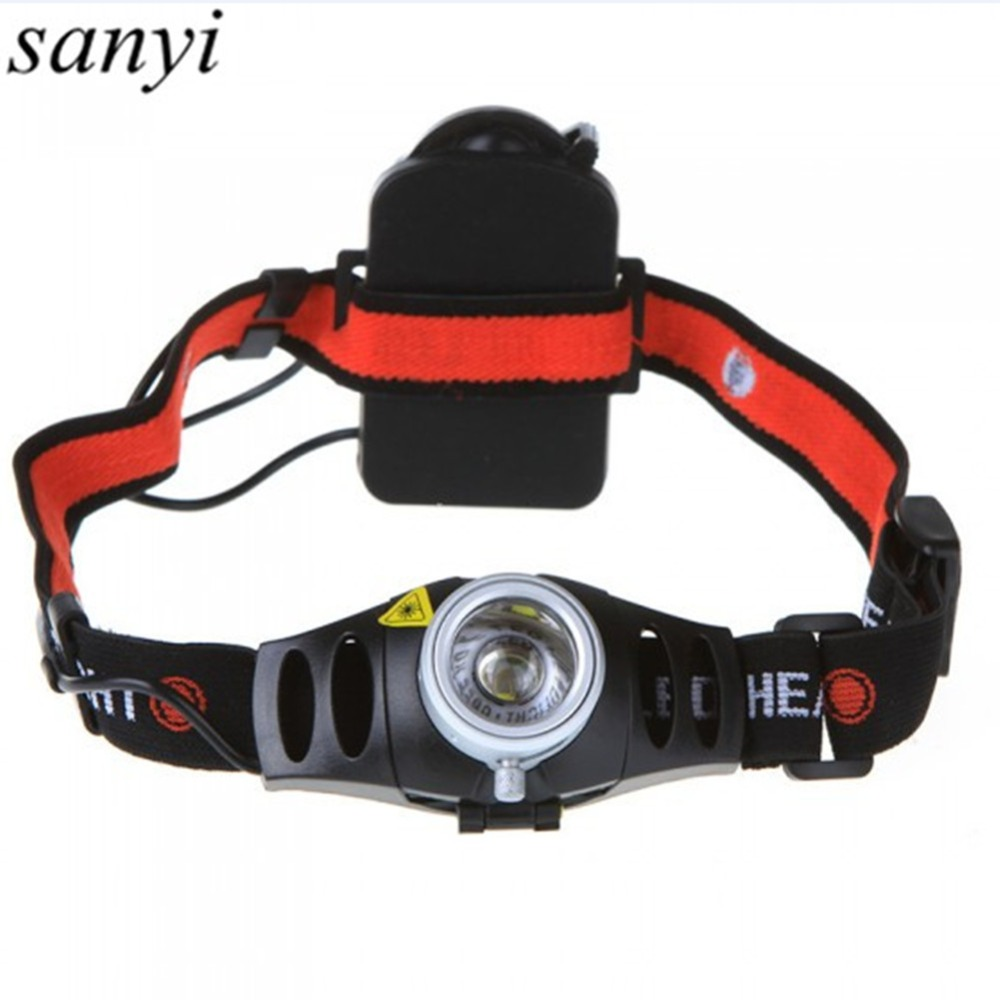 Professional Lighting Headlight 2 Modes Waterproof Q5 LED Head Lamp Super Bright Headlamp Lanterna With Headband For Hunting