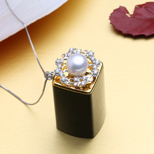 Bohemian Pearl Fine Pendant Necklace For Women