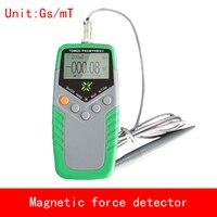 Портативный Тесла и Гаусса измерения магнитная сила детектор точность 1% 5% магнит поля значение
