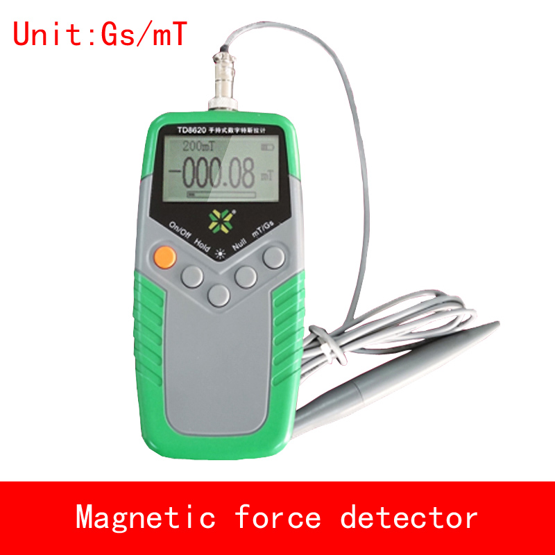 portable Tesla and Gauss measure Magnetic force detector Accuracy 1%-5% Magnet field intensity value patriot т 1 6 300f epg tesla