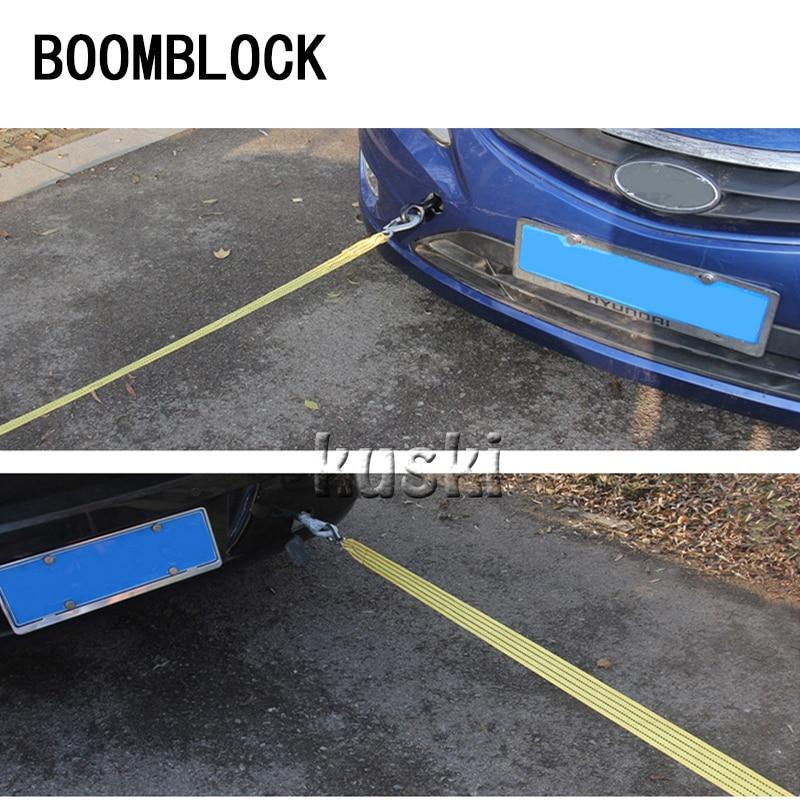 BOOMBLOCK Car Trailer Rope 3 Tons 3 Meters For Inifiniti Kia Rio 3 K2 Sportage Ceed Ford Fiesta Mondeo Suzuki Swift Accessories