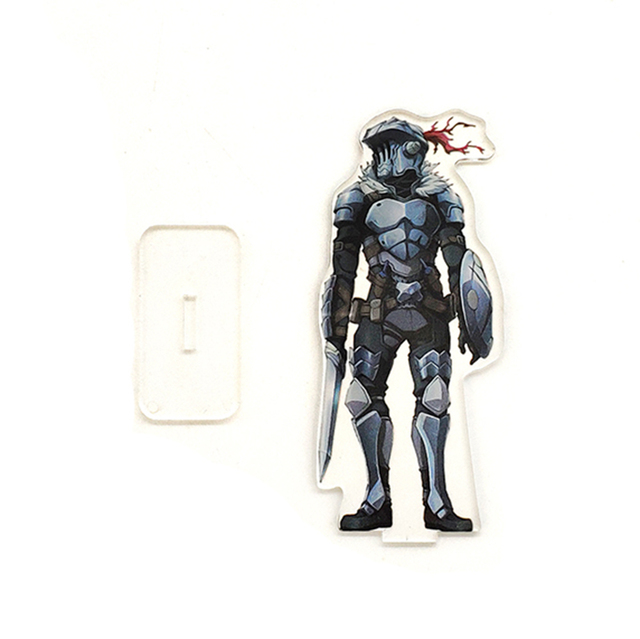 Love Thank You Goblin Slayer SMALL acrylic stand figure model plate holder cake topper anime japanese cool