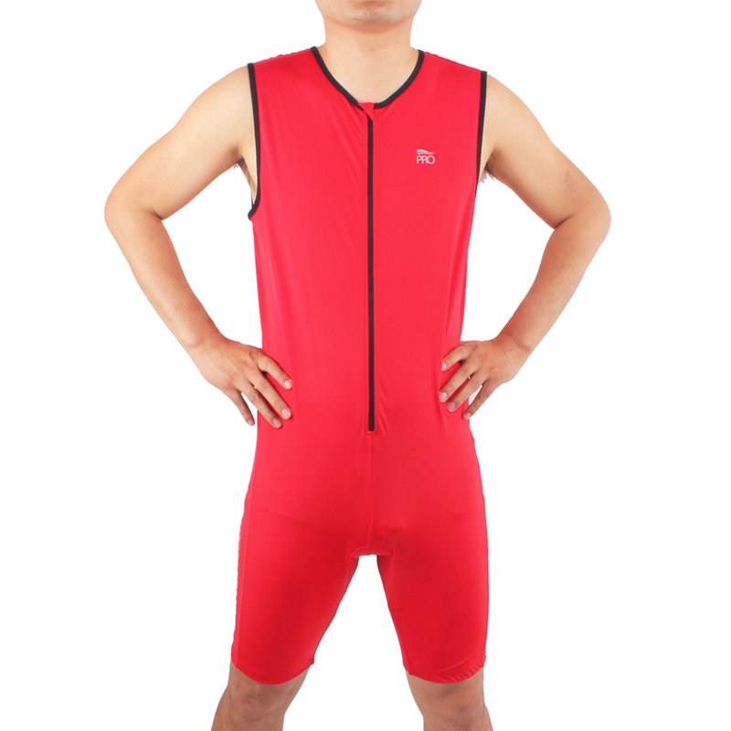 Running Swimming Cycling  Professional Tri Sports Padded Jumpsuits One-Piece Lycra Sleeveless Men Ironman Triathlon Suits garmin hrm tri heart rate transmitter and strap for swimming running cycling