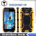 2015 Оригинальный Discovery V9 IP68 Водонепроницаемый Противоударный Прочный телефон MSM8212 quad Core 5.5 ''IPS экран 3000 мАч V8 Смартфон