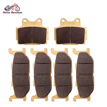 6pcs Motorcycle Front Rear Brake Pads Disc Set For YAMAHA XJ 600 S Diversion 92 93 94 95 96 97 98 99 00 01 02 03