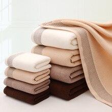 LYN&GY New Honeycomb 100% Cotton Terry Towel Set for Adults Face Hand Towels Beach Bath Toalhas de banho Bathroom 3pcs/set