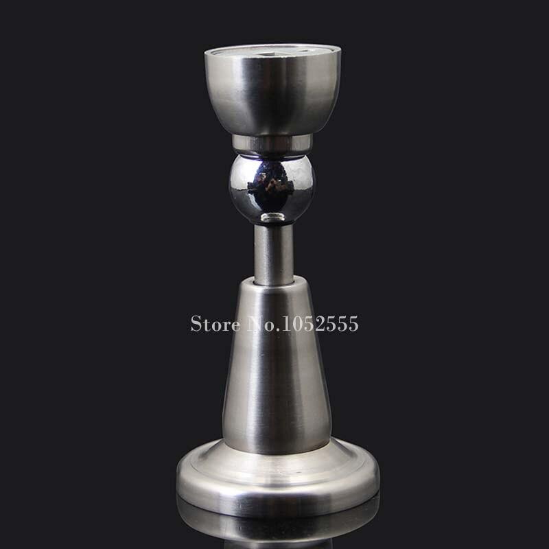 2pcs new premium stainless steel magnetic door stops stopper wall floor mounted holder catch k20