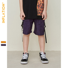 INFLATION Breathable Shorts For Boys Children Casual Loose Short Pants 4Y-10Y Kids Fashion Streetwear Clothes 9538S