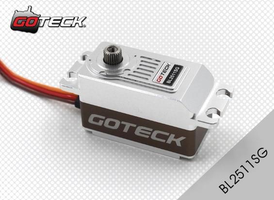 Goteck 12kg cm High Torque 6V Voltage brushless servo motor BL2511S for RC Car model airplane