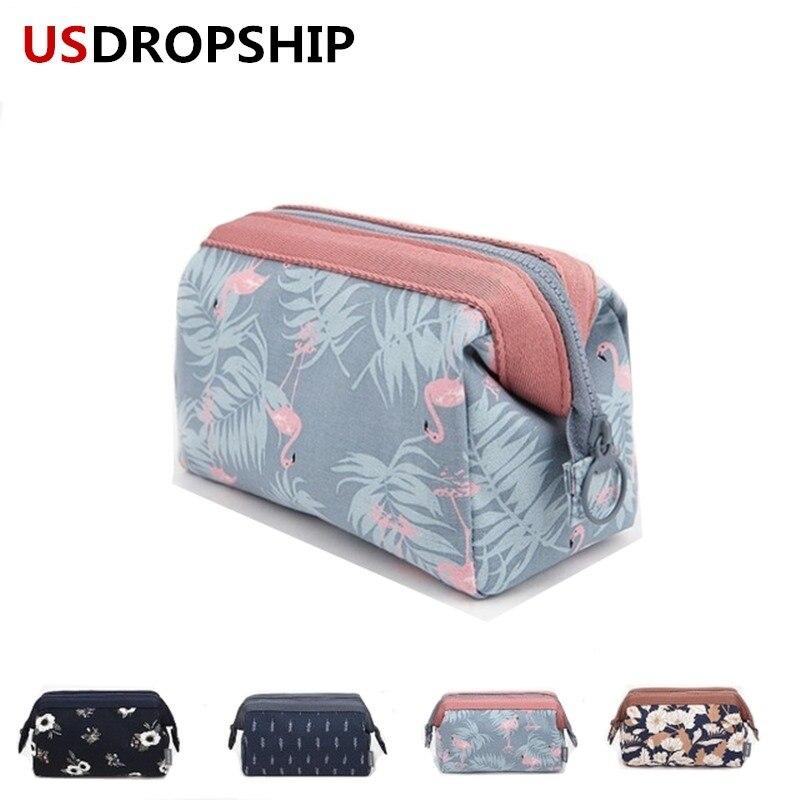 USDROPSHIP Горячие Для женщин косметика сумка высокого качества косметический организации сумка первой необходимости туалетные сумки доставка...