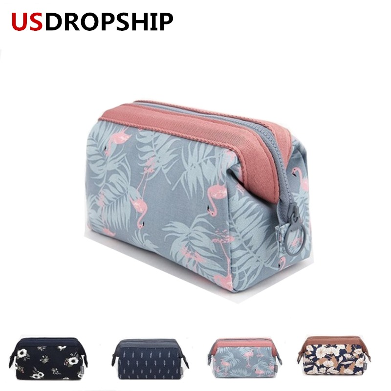 USDROPSHIP Hot Women make up bag high quality cosmetic organization bag travel Necessaries Toiletry Bags Drop shipping service