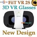 Nuevo Diseño Fiit VR 2 S Gafas 3D Gafas de Realidad Virtual cine gafas de vídeo google cartón vr para 4-6.5 'smart teléfono