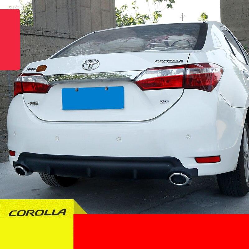 lsrtw2017 font b car b font rear bumper for toyota corolla 2013 2014 2015 2016 2017