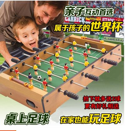 Table football machine children's toys 6 bar parent-child interactive games hot sell desktop manual indoor football machine parent child sports interactive toys table ball game machine