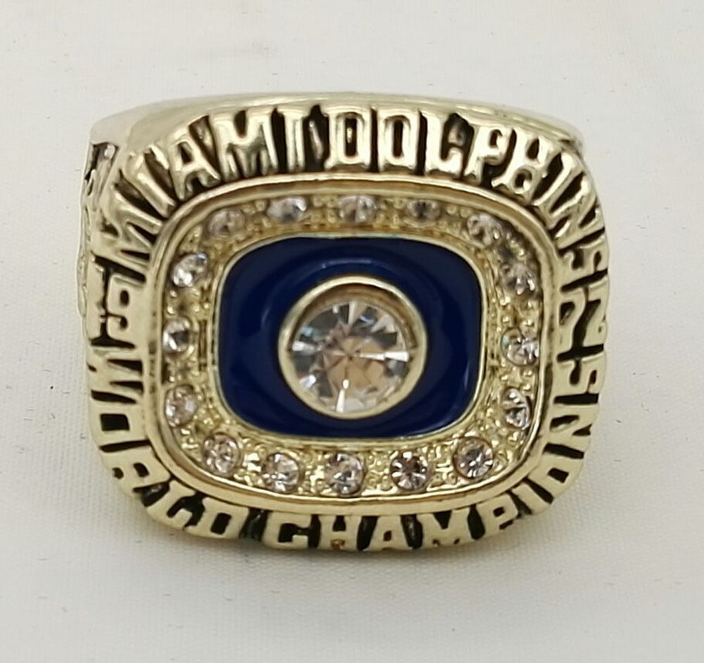 Factory Direct Sale 1972 NFL Miami Dolphins Football Super Bowl World Championship Ring Csonka Fans Solid
