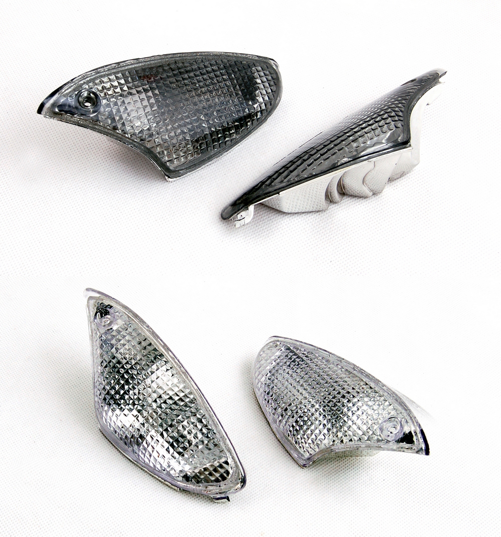 Areyourshop Sale For BMW K1200S K1300S Motorcycle Replacement Front Turn Signals Light Lens Clear Certified Blinker Cover