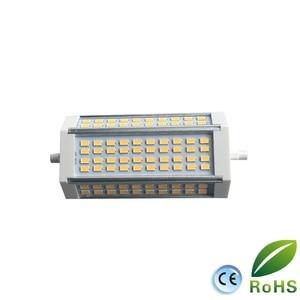 Image 3 - Yüksek güç 35w LED R7S ışık 135mm kısılabilir R7S lamba soğutma fanı J135 R7s ampul yerine 350w halojen lamba AC85 265V