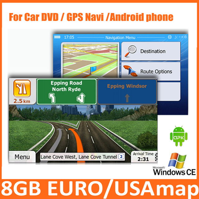 Gb Micro Sd Card Car Gps  Map Software With Europeusaitaly