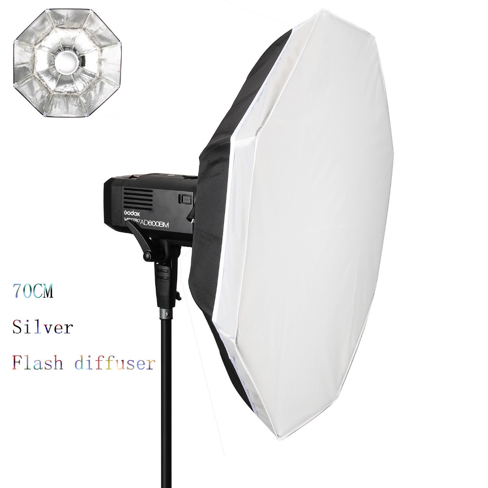 27.5 70CM Foldable Portable Folding Beauty Dish Silver With Bowens Mount Softbox Reflectors for photography Flash diffuser selens 65cm diffuser reflector parabolic umbrella beauty dish softbox for off camera flash