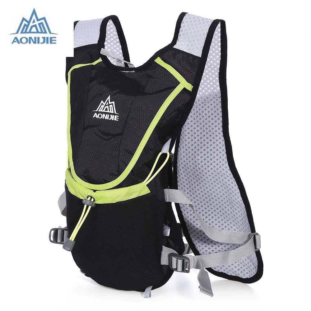Aonijie 8l ultraligero mochila bolsa de deporte al aire libre senderismo ciclism