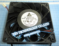 Original Delta 12V 3A high speed big air flow fan FFB1212EHE 3wire ~