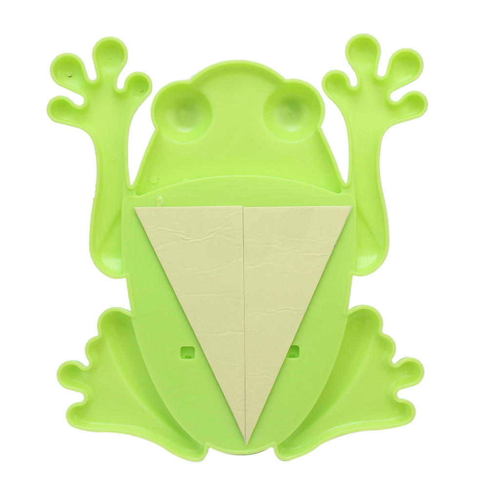 2PCS Cute Design Cartoon Animal Frog Toothpaste Toothbrush Holder ...
