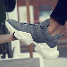 Golden Sapling Man Sneakers Platform Sport Shoes Men Breathable Leather Trainers Mens Running Shoes GYM Fitness Men's Sneakers