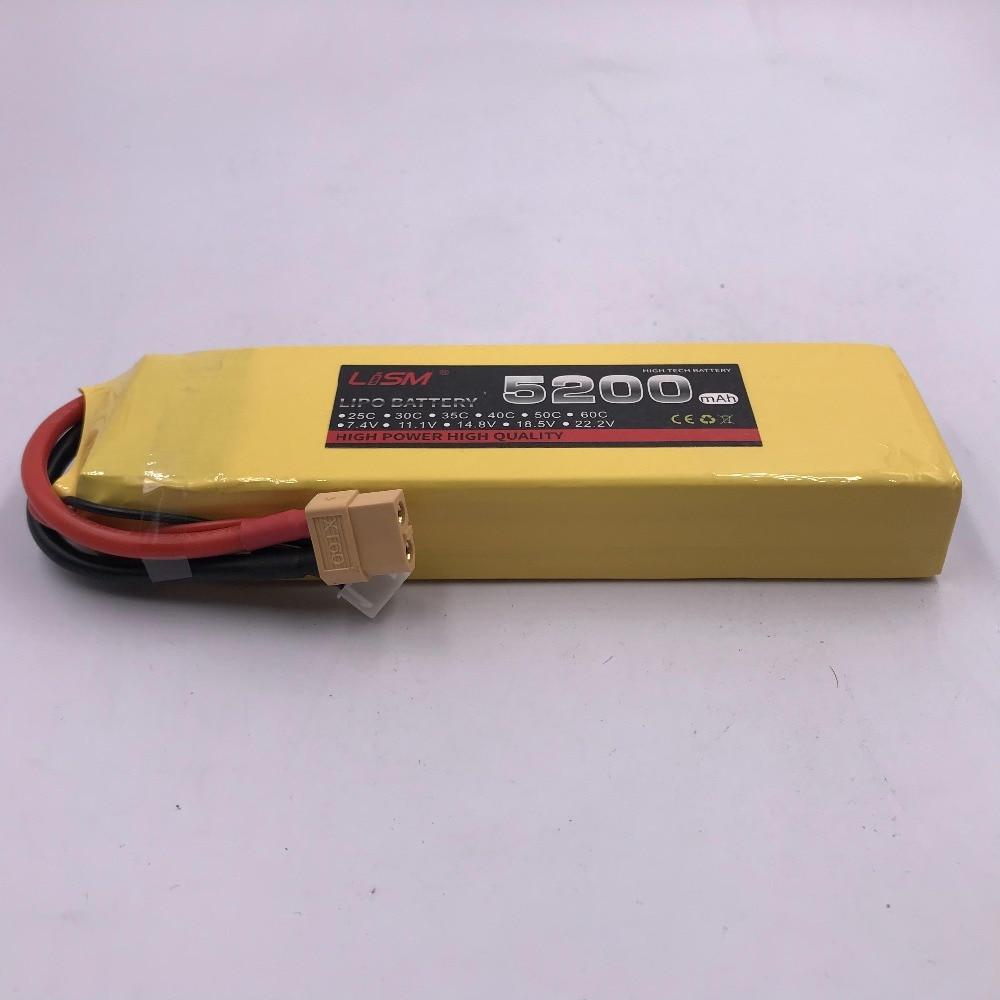 De haute qualité PUISSANCE Lipo 3 S Batterie 11.1 v 5200 mAh 25C Batterie Pour RC Hélicoptère RC Voiture Bateau Quadcopter À Distance contrôle #25y40