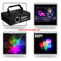 DMX + ILDA + SD + 2D + 3D многоцветный мини 1 Вт rgb лазерный свет/dj света/свет этапа/лазерный свет/лазерный проектор