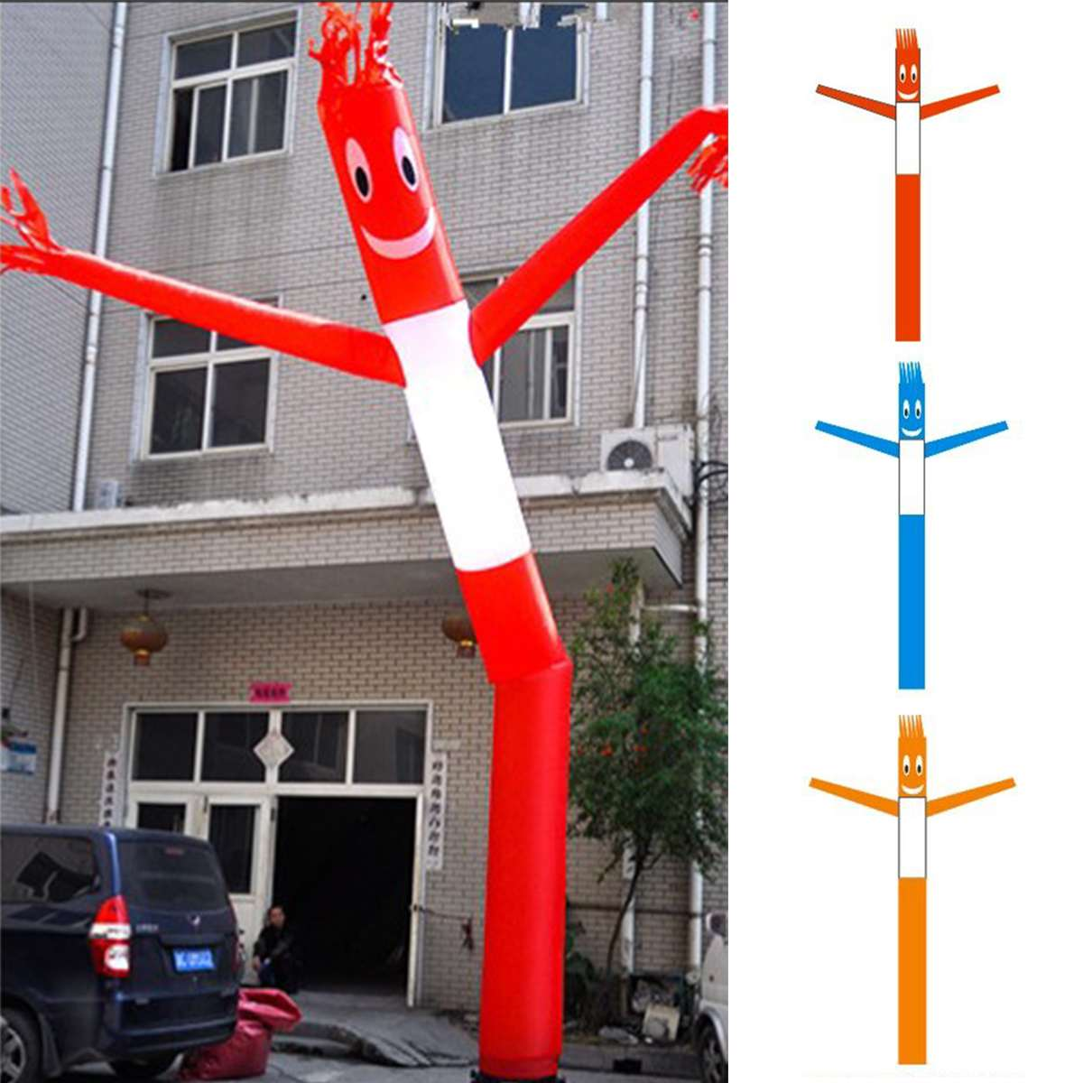 3m/6m Inflatable Advertising Air Sky Human Dancers Tube Puppet Flag Wavy Man Wind Dancers Carton Advertsing Dancing Model Toy