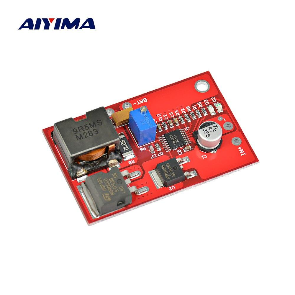 Aiyima 1pc 12v Mppt Solar Panel Controller Lithium Ion Lithium Li Ion 18650 Battery Solar Regulator Charging Module Solar Energy Systems Aliexpress