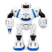JJR/C Olacak R3 Cady JJRC RC Robot AD Polis Dosyaları programlanabilir Savaş Defender için Akıllı RC Robot Uzaktan Kumanda Oyuncak çocuklar