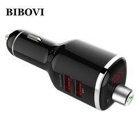 BIBOVI 2 Port Mini-autoaufladeeinheit Quick Charge Bluetooth 4,2 Freisprecheinrichtung Für iPhone 7 6 s Samsung HTC Xiaomi kompatibel