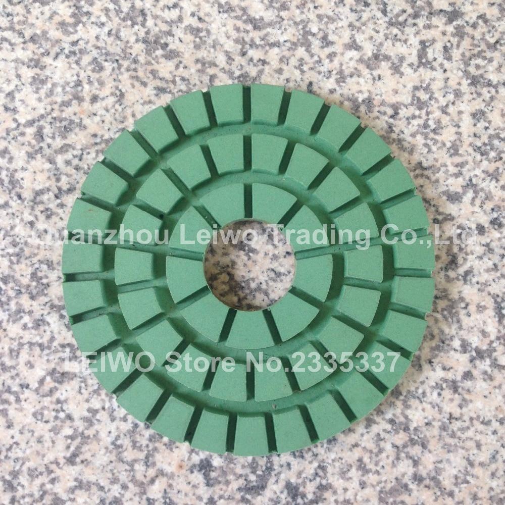 Heavy Duty Diamant Boden Polieren Pad Nassen 8 Zoll Polierscheibe Für Granit Polish Pad Schleifscheibe Grit 3000 Dicke 10mm
