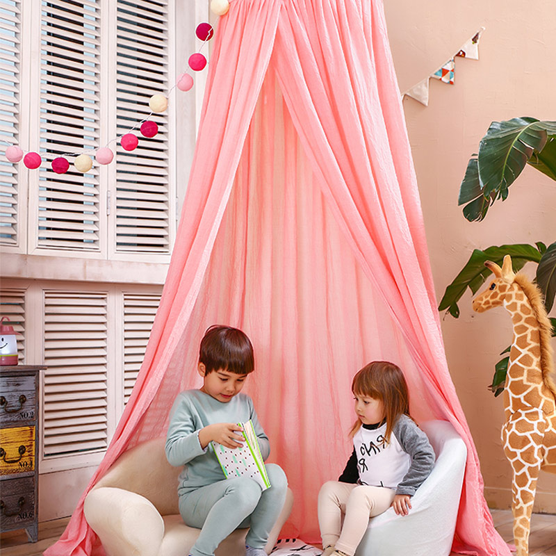 Kids Crib Netting Play Tent Children Hanging Teepees Tipi Mosquito Net For Boys u0026 Girls Play House For Kids Baby Room Decoration-in Toy Tents from Toys ... & Kids Crib Netting Play Tent Children Hanging Teepees Tipi Mosquito ...